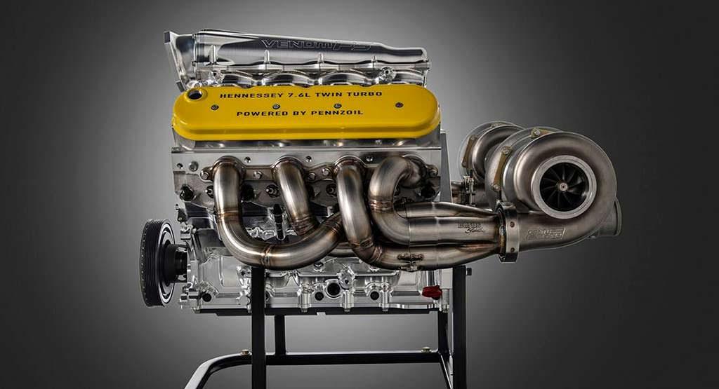 Двигатель 7,6-литра V8. Мощность более 2 000 л.с.