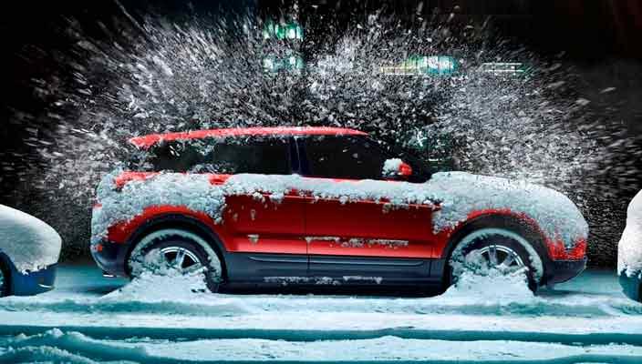Как обогреть машину зимой