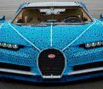 В LEGO сделали полноразмерный Bugatti Chiron и он едет | видео