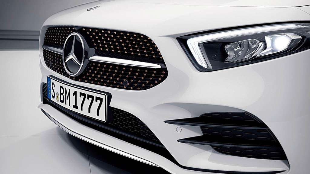 Радиаторная решетка Mercedes A-Class Sedan Edition 1