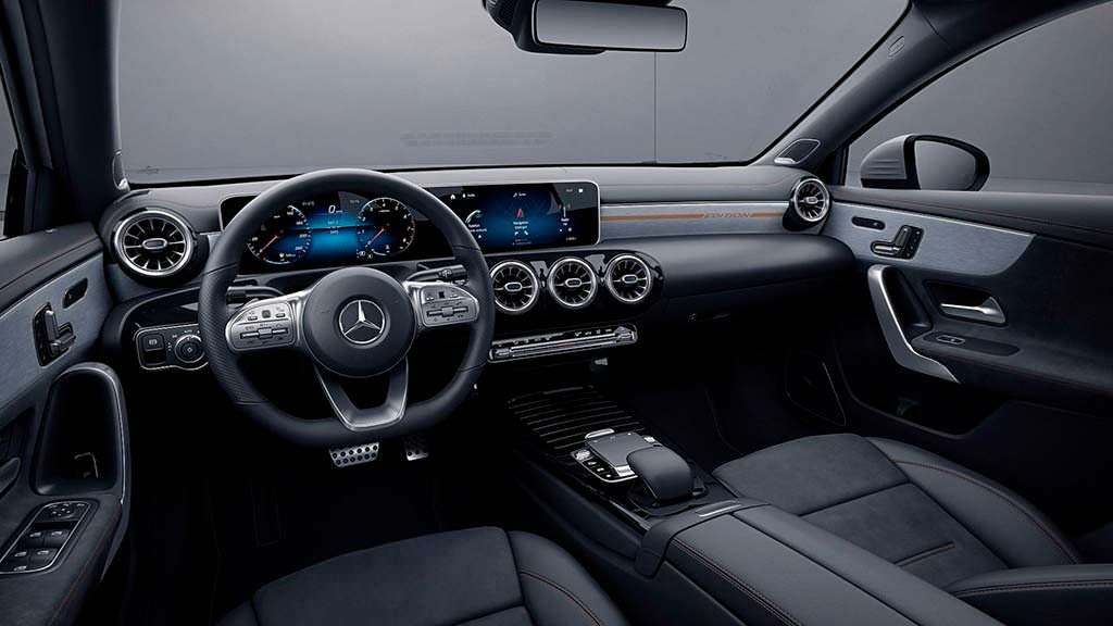 Интерьер Mercedes A-Class Sedan Edition 1