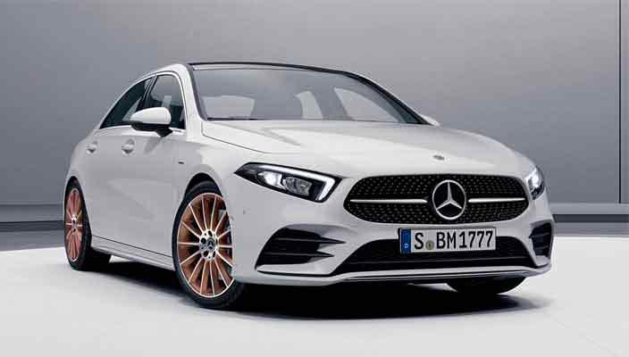 Спецверсия Mercedes A-Class Sedan Edition 1 официально | фото