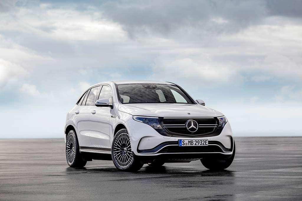 Электро-кроссовер Mercedes-Benz EQC