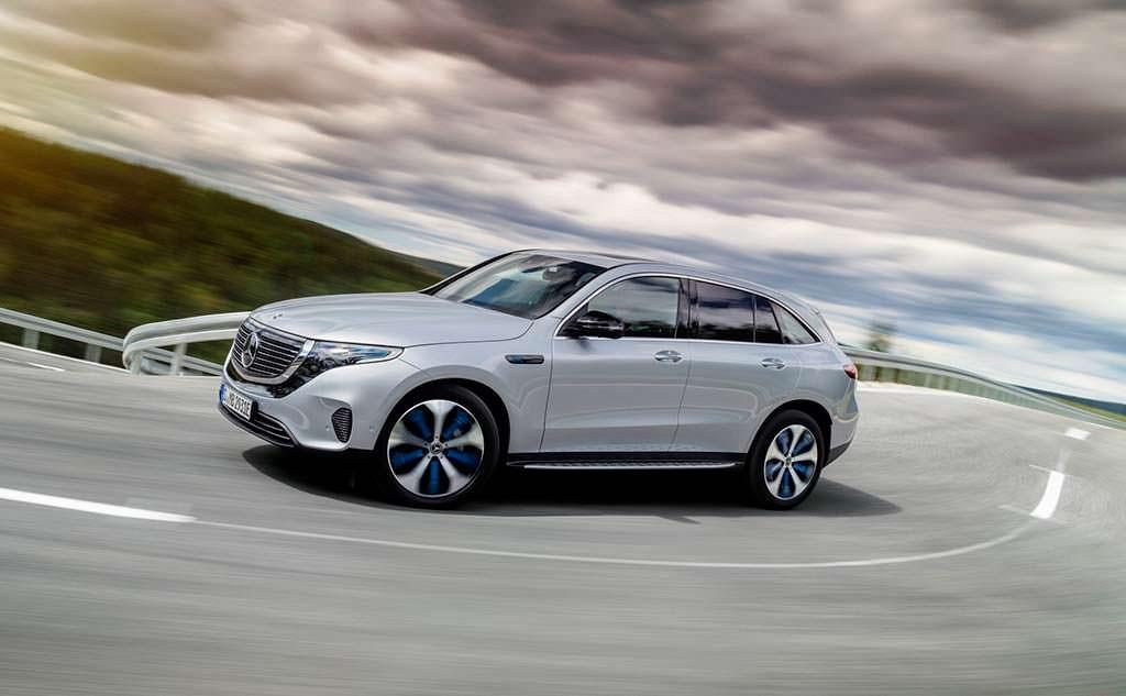 Электромобиль Mercedes-Benz EQC - ответ Audi e-tron