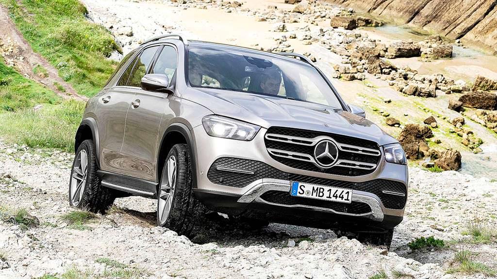 Mercedes GLE нового поколения