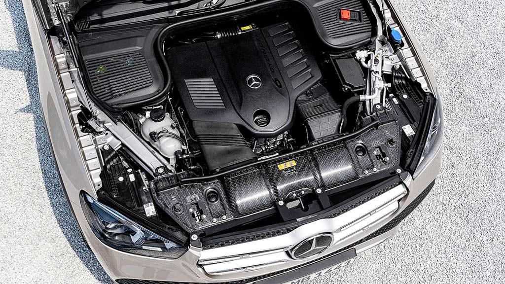 Двигатель Mercedes GLE 450 4MATIC