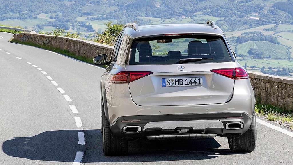 Внедорожник Mercedes-Benz GLE 2019