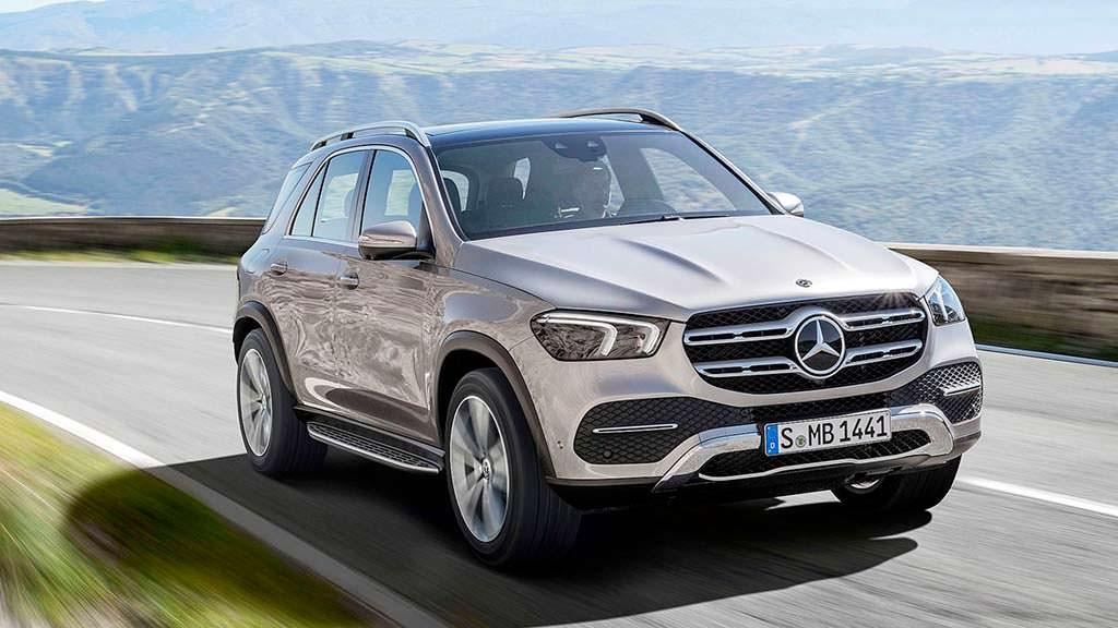Новое поколение Mercedes-Benz GLE 2019