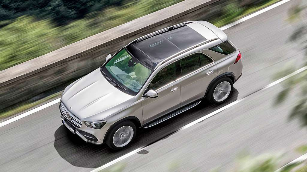 Новый Mercedes-Benz GLE в кузове W1XX