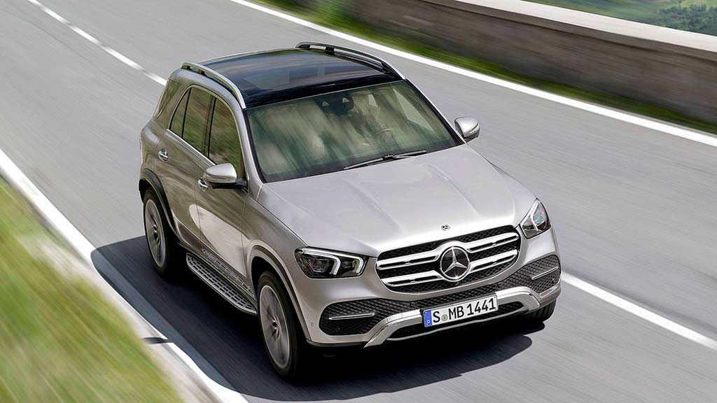 Внедорожник Mercedes-Benz GLE в кузове W1XX