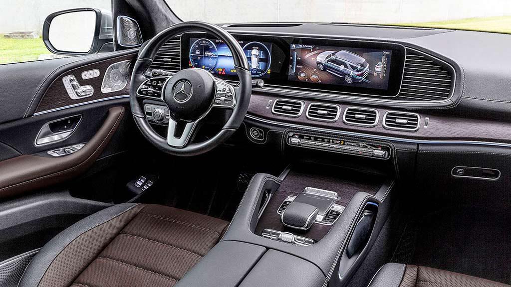 Фото салона Mercedes-Benz GLE 2019