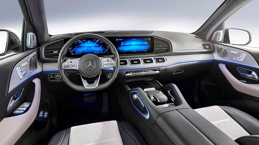 Интерьер Mercedes-Benz GLE 2019