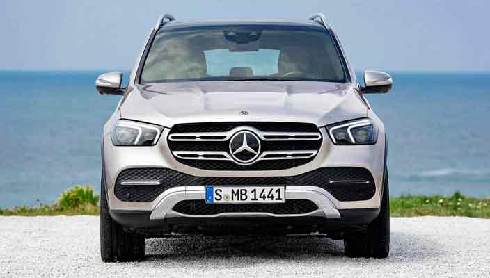 Новый Mercedes-Benz GLE в кузове W1XX официально | фото, видео