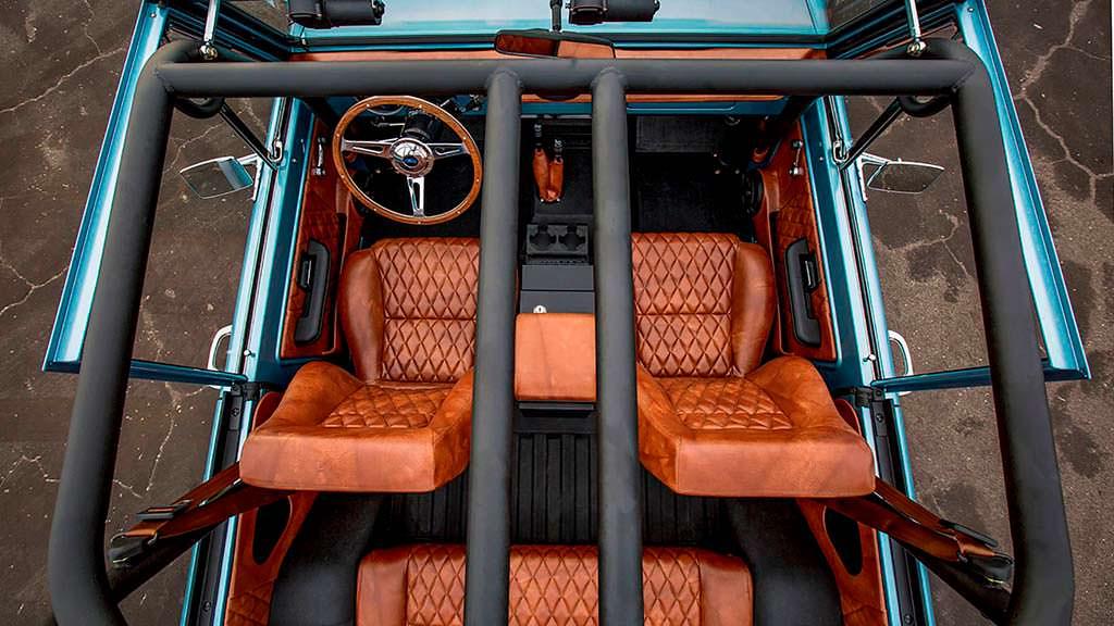 Кабриолет-внедорожник Ford Bronco 1973 года выпуска