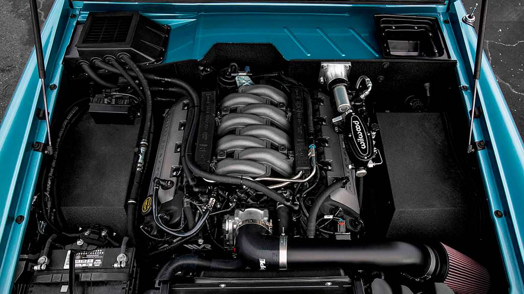 Двигатель V8 5,0-литра Ford Bronco 1973 года от Ford Racing