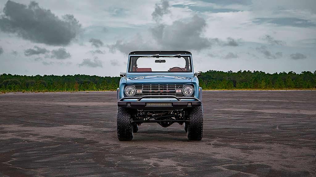 Уникальный Ford Bronco 1973 года выпуска