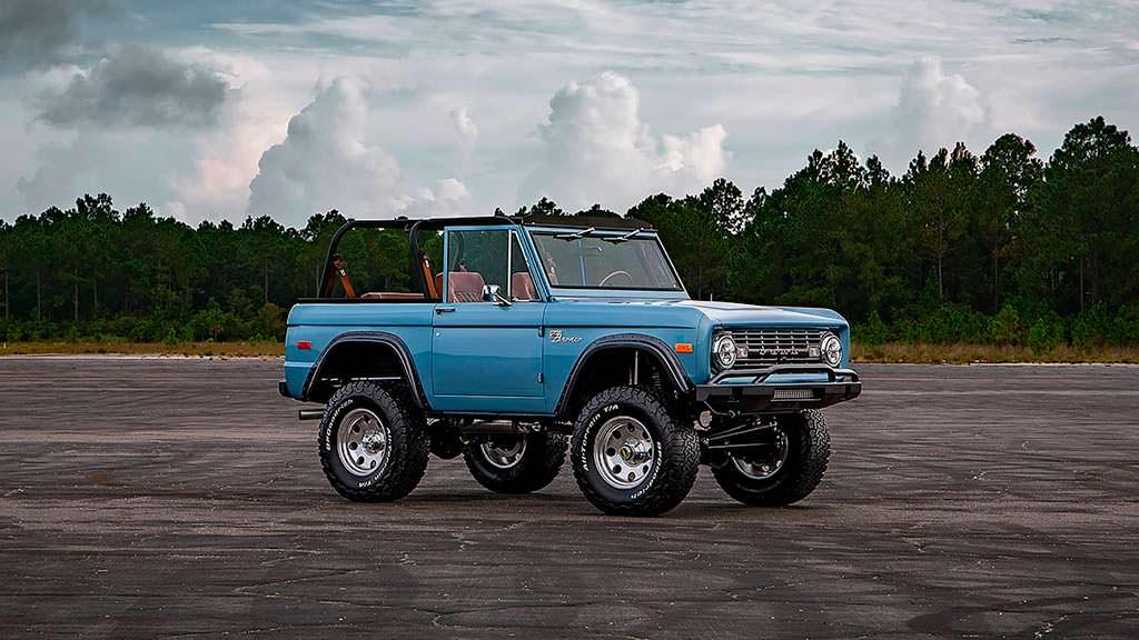 Классический внедорожник Ford Bronco 1973 года выпуска