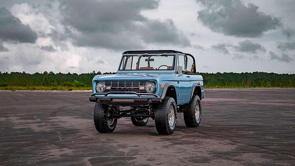 Классический внедорожник Ford Bronco 1973 года. Реставрация