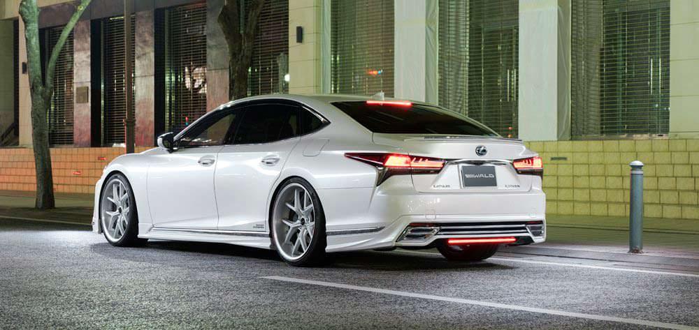Lexus LS нового поколения. Тюнинг WALD International