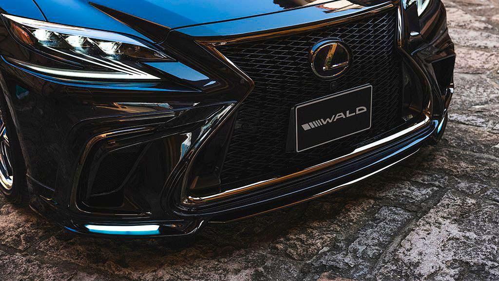 Lexus LS в обвесе от WALD International