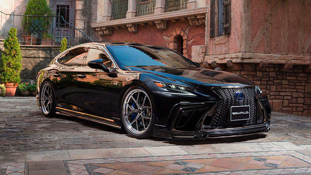 Новый Lexus LS в обвесе от WALD International