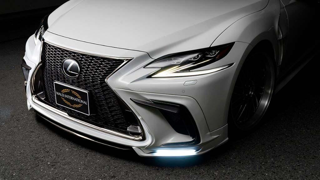 Сплиттер со светодиодами Lexus LS от WALD International