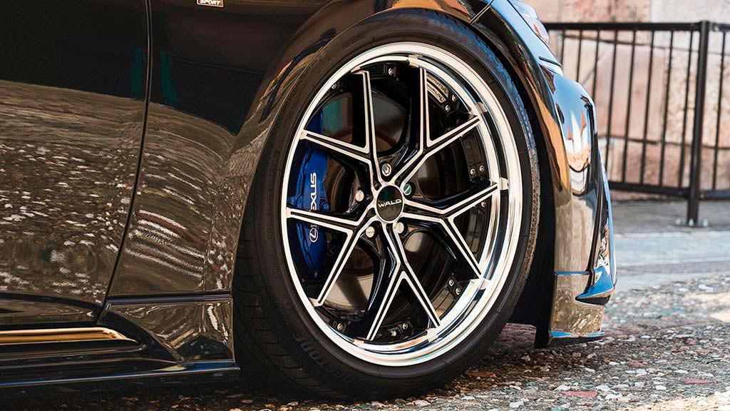 Колеса на 20 - 22 дюйма Lexus LS от WALD International