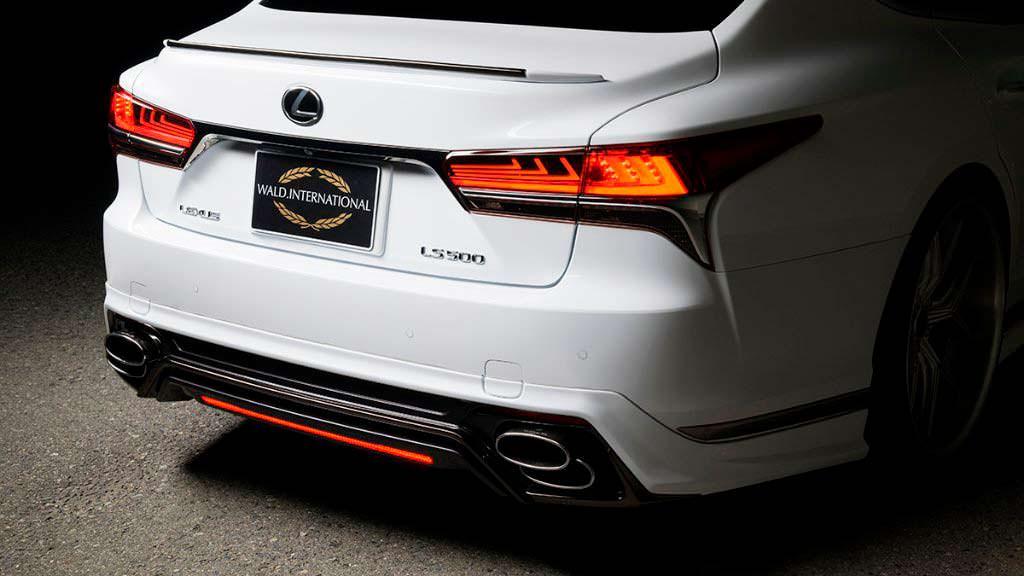 Тюнинг Lexus LS нового поколения от WALD International