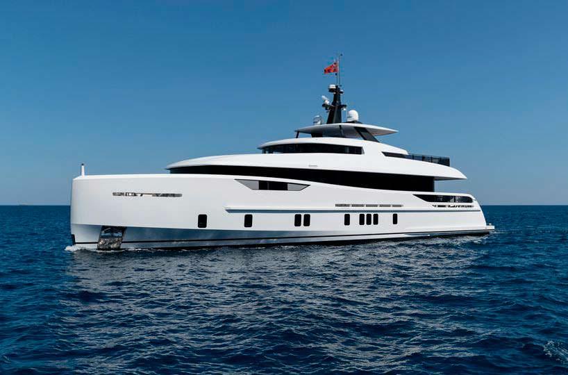 30-метровая яхта Virgen Del Mar VI от Alia Yachts