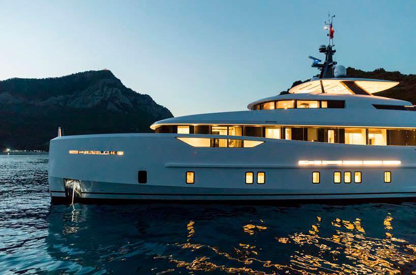 Турецкая яхта Virgen Del Mar VI от Alia Yachts