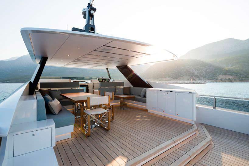 Новая 30-метровая яхта органического дизайна от Alia Yachts