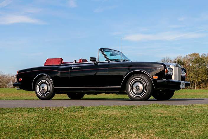 Автомобиль Фрэнка Синатры Rolls-Royce Corniche Convertible