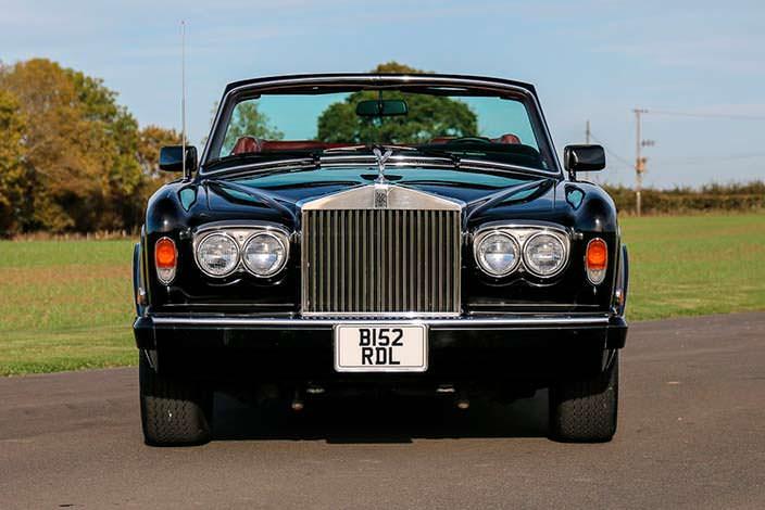Rolls-Royce Corniche Convertible - автомобиль Фрэнка Синатры