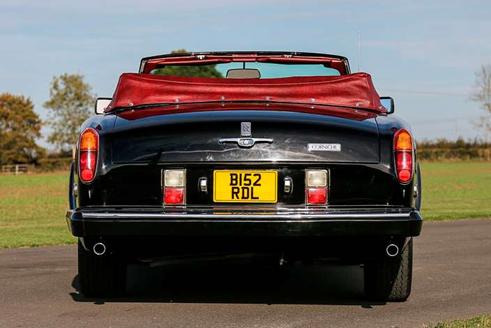 Кабриолет Фрэнка Синатры Rolls-Royce Corniche Convertible