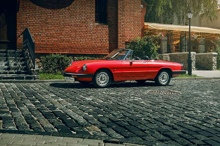 Alfa Romeo Spider выпьет вашу кровь до последней капли