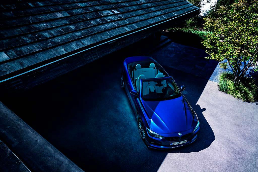 Экстремальная BMW Alpina B4 S Bi-Turbo Convertible Edition 99