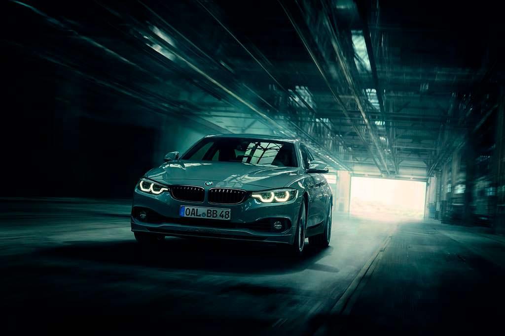 BMW Alpina B4 S Bi-Turbo Edition 99: разгон до ста за 3,9-сек