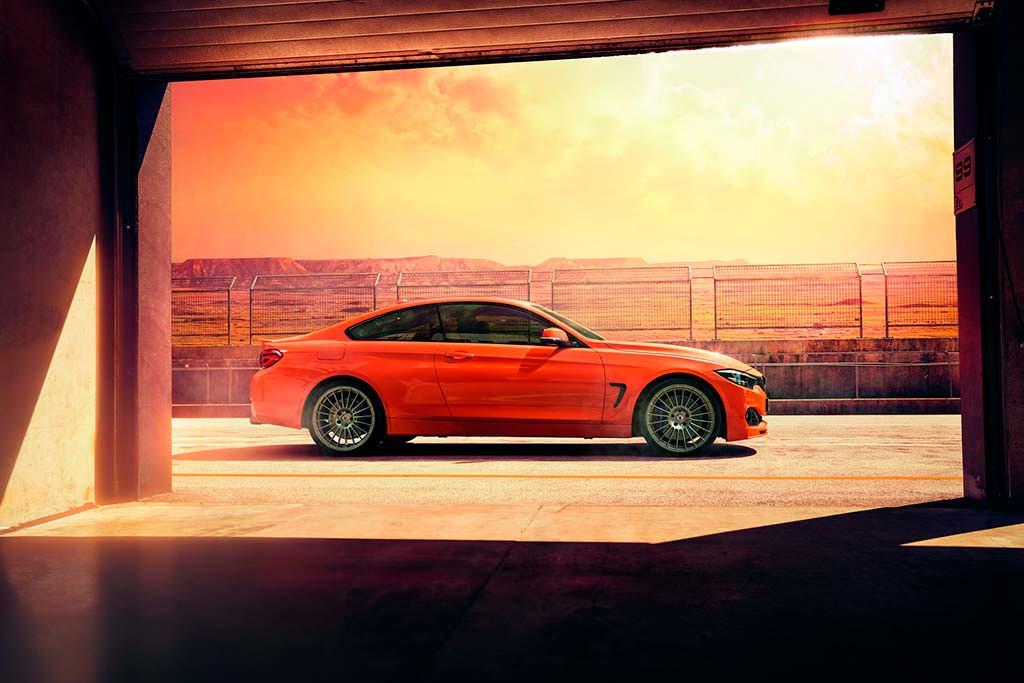 BMW Alpina B4 S Bi-Turbo Edition 99: скорость 306 км/ч