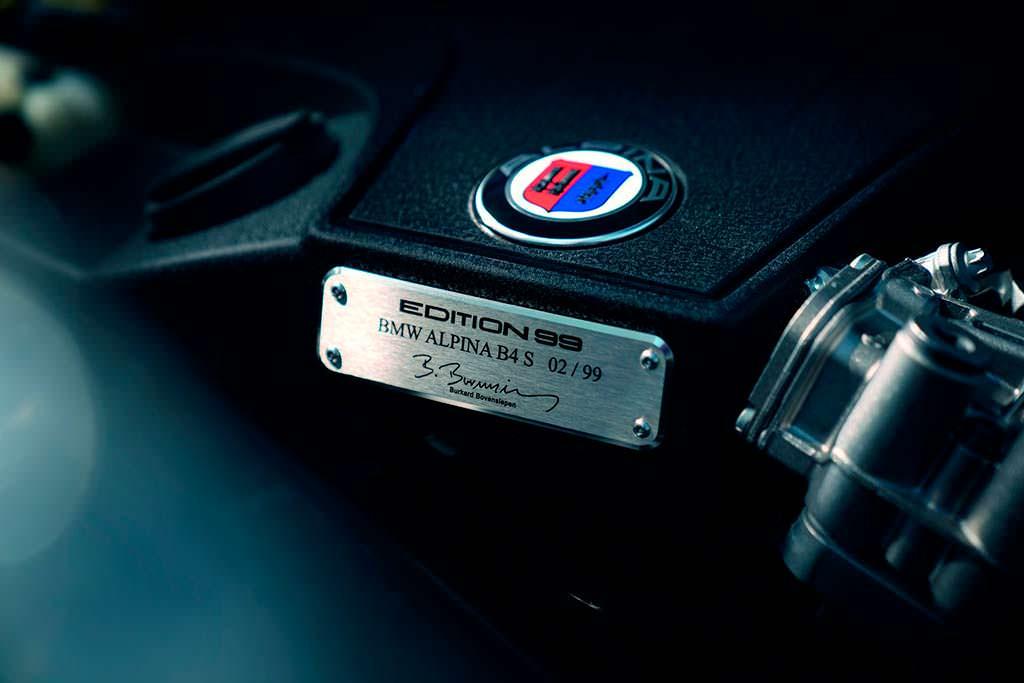 Двигатель 3.0-литра V6 BMW от Alpina. Мощность 445 л.с.