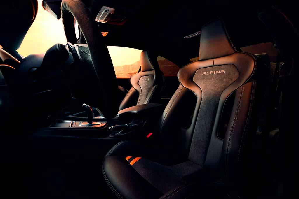Спортивные сиденья Alpina для BMW 4-Series