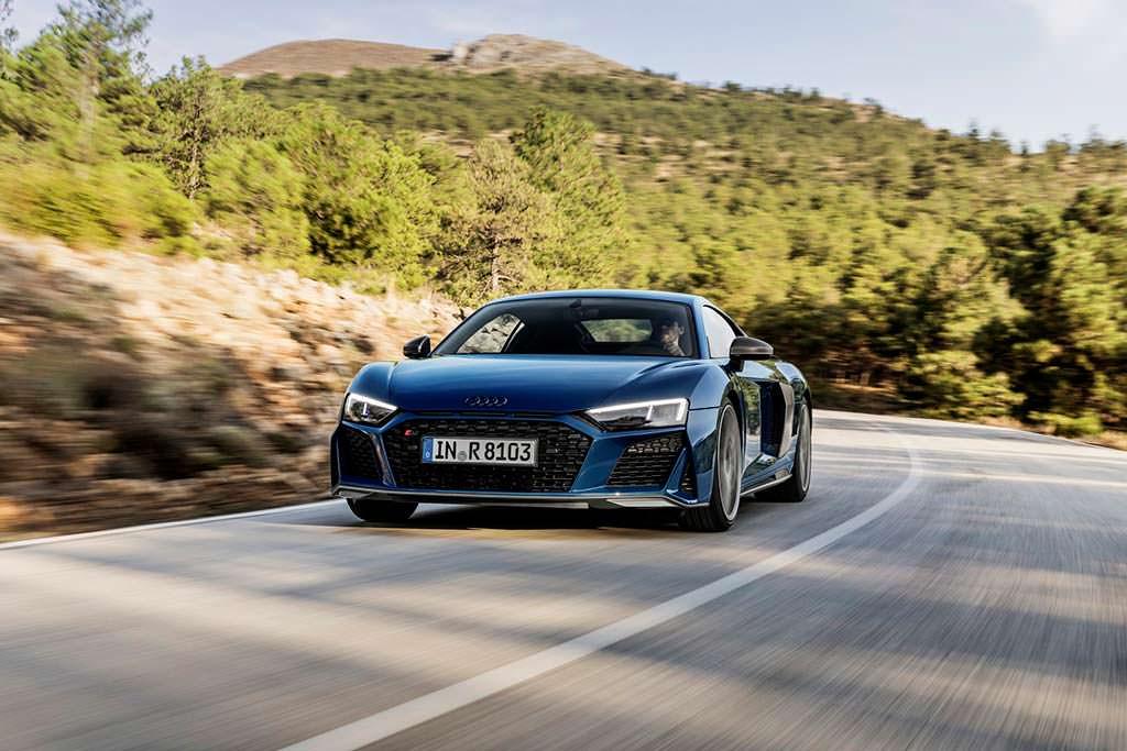 Новая Audi R8 2019 модельного года
