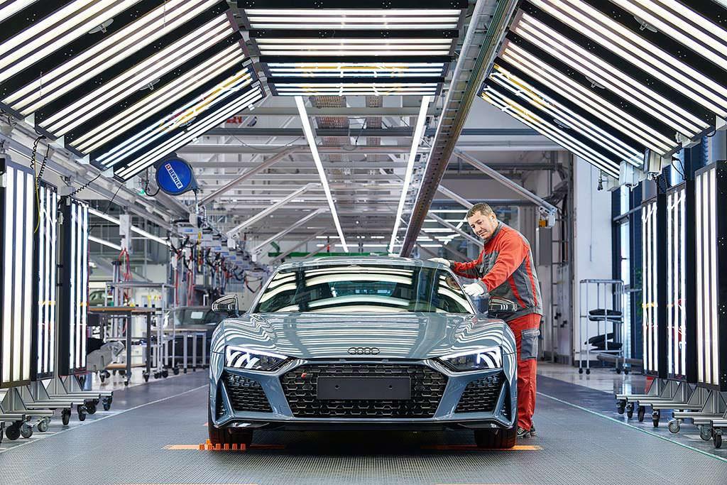 Контроль качества производства Audi R8