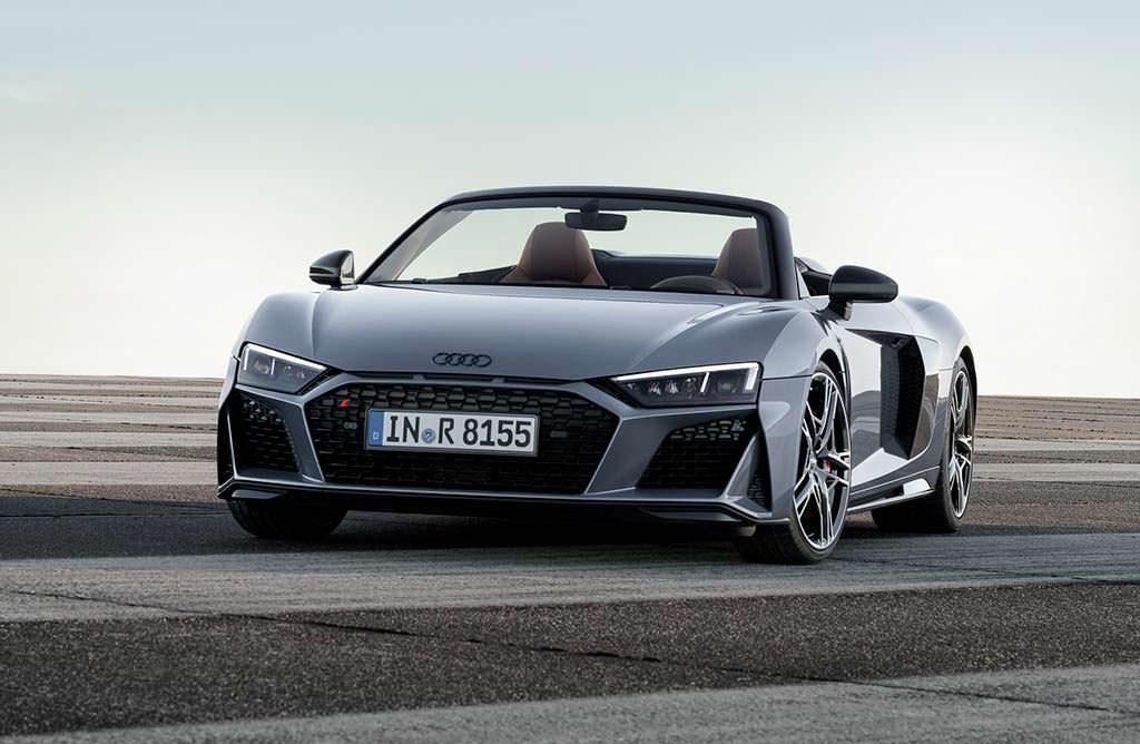 Новый кабриолет Audi R8 Spyder
