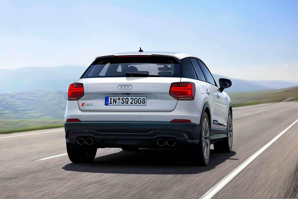 Audi SQ2 с двигателем 2.0 TFSI на 300 л.с. мощности