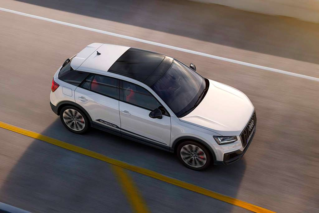 Новая Audi SQ2. Разгон до 100 км/ч за 4,8-секунды