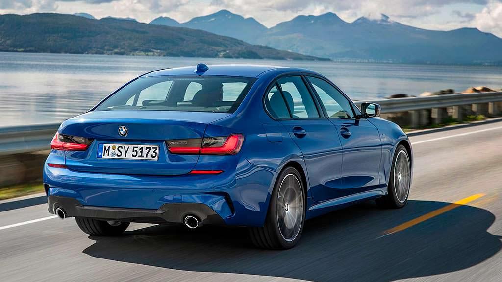 2019 BMW 3-Series седьмого поколения