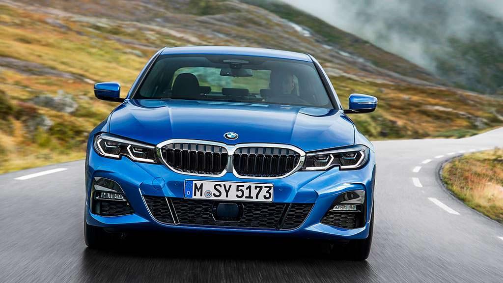 Седан BMW 3-Series G20 нового поколения