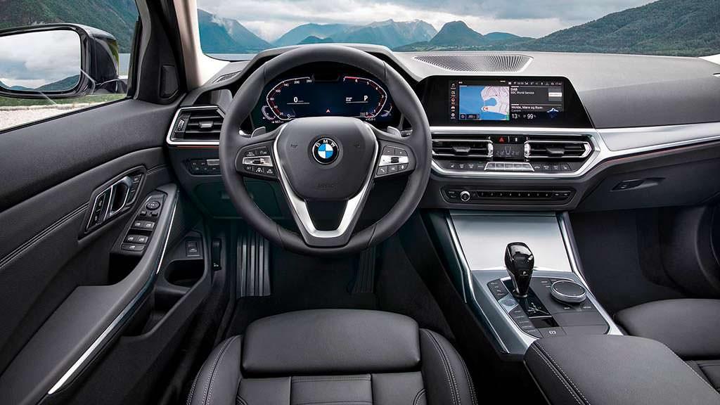 Фото салона BMW 3-Series G20