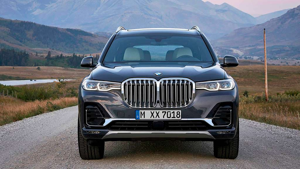 Большой премиум-кроссовер BMW X7