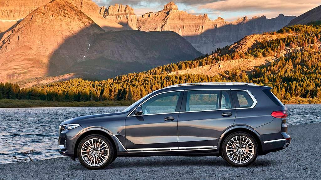 Новый BMW X7 в кузове G07